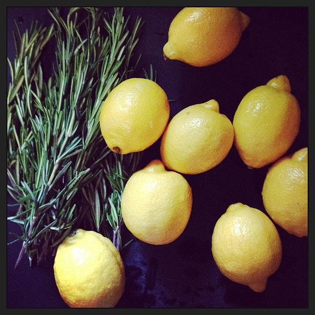 Лимон, розмарин и ванилия за прекрасен свеж аромат