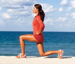 7 упражнения за горещо лятно тяло - разтегнат клек