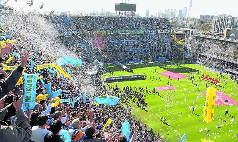 Ла Бомбонера е един от невероятните стадиони по света
