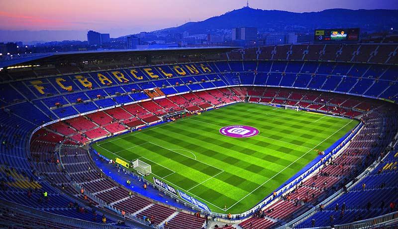 Камп Ноу е сред невероятните футболни стадиони