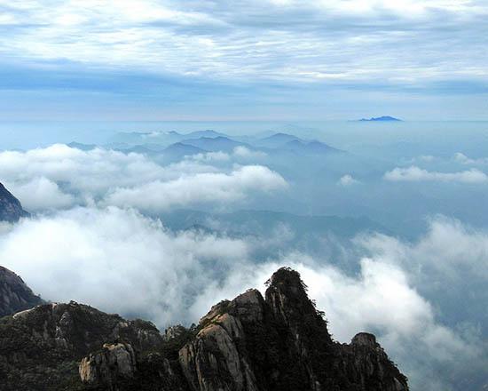 Планината Хуангшан, Китай