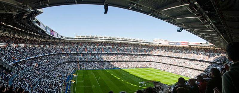 Сантяго Бернабеу е сред най-невероятните футболни стадиони по света