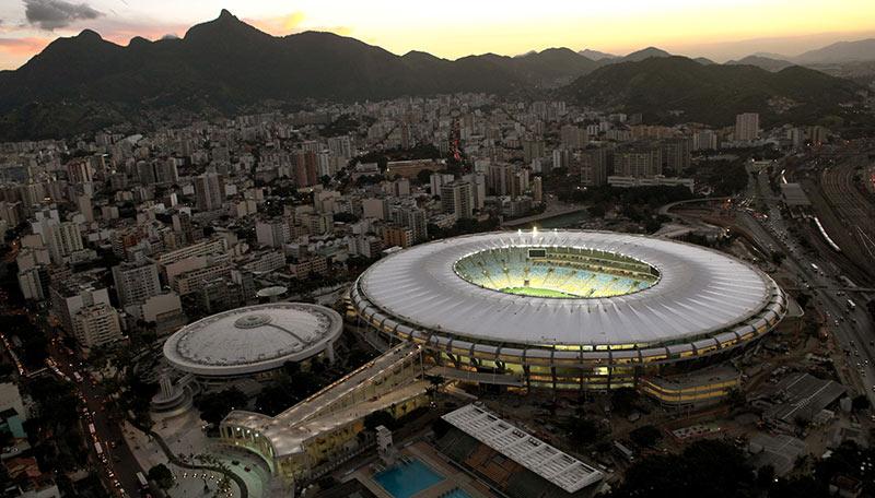 Маракана е един от най-невероятните футболни стадиони