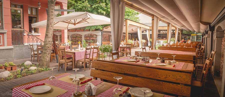 Остерия Барбароса е един от най-добрите италиански ресторанти