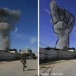 10 от най-влиятелните снимки на израелските ракети от Газа