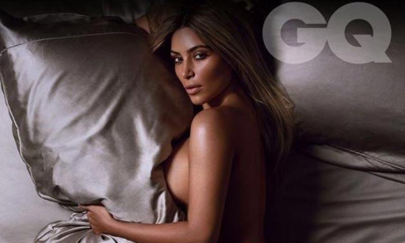 Ким Кардашян, интимно за GQ