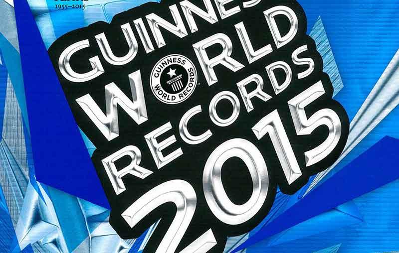 Книгата с рекордите на Гинес