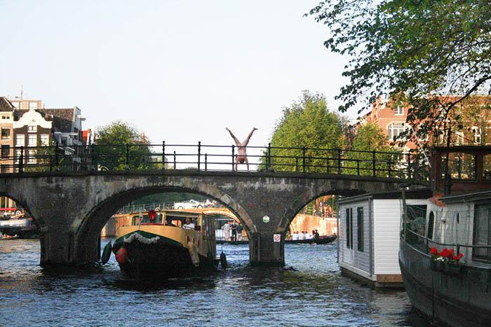 Амстердам, голи снимки