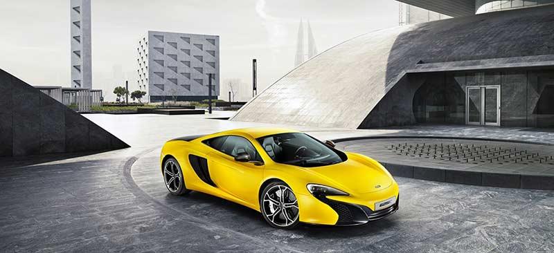 Новият McLaren 625C е на лице