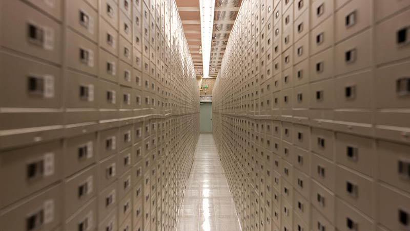 Архивите в Гранайт Маунтин
