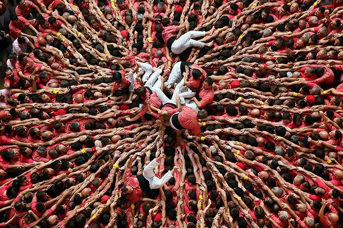 Човешки кули Каталония