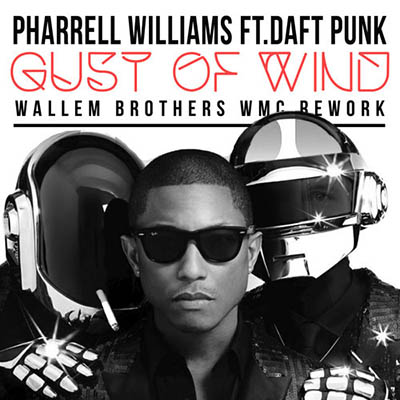 "Pharrell Williams и Daft Punk - ""Gust of Wind"""