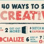 40 изобретателни начина да останем креативни