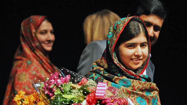 Най-младият получател на Нобелова награда за мир, Malala Yousafzai