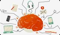 Мултитаскингът физически свива мозъка