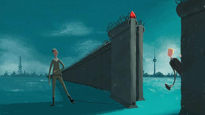 """Airbnb """"събаря"""" Берлинската стена"""