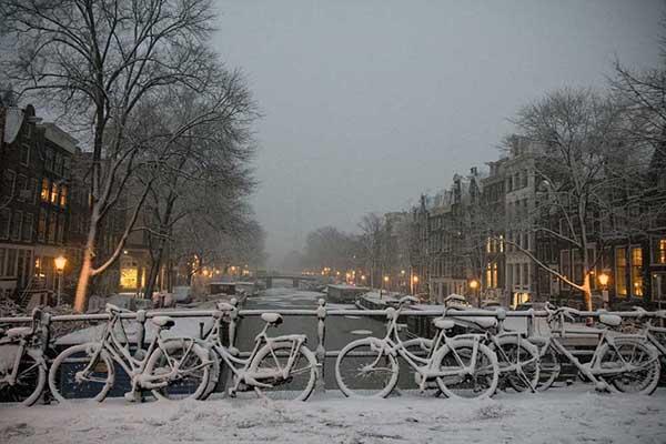 Мечтаната зимна ваканция - Амстердам