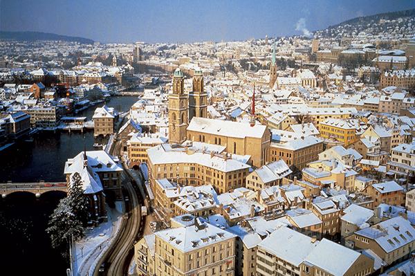 Мечтаната зимна ваканция - Цюрих