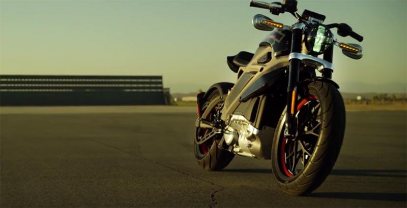 Първият електрически Harley Davidson