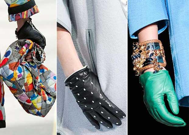 Късите ръкавиците - елегантният завършек