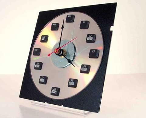 12 приложения на старата клавиатура - часовник