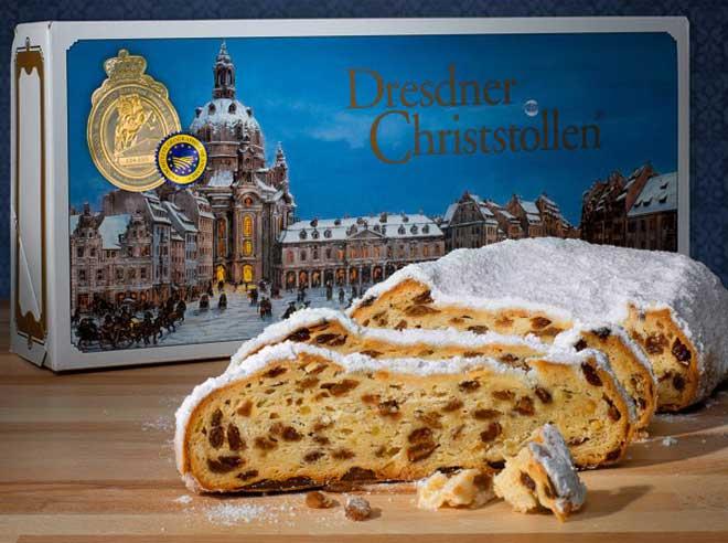 Интересни коледни ястия от цял свят - dresdner christstollen