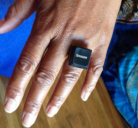 12 приложения на старата клавиатура - пръстен