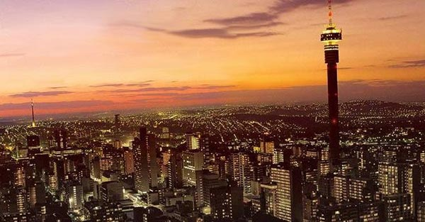 Йоханесбург е в топ 3 на най-посещаваните градове в Африка