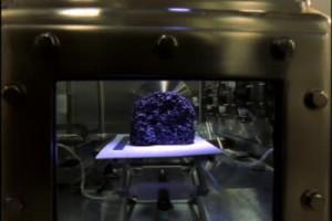 Лабораторията за изследване на лунни образци
