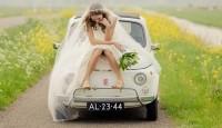 Сватбени снимки, като извадени от приказка