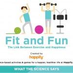 Връзката между упражненията и щастието