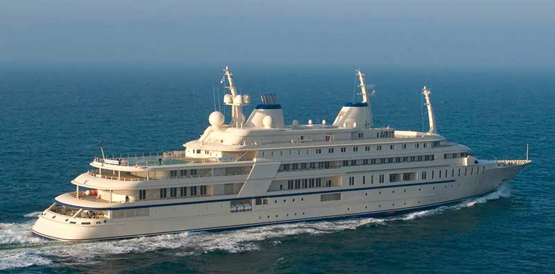 Al Said е в топ 10 на най-скъпите яхти в света