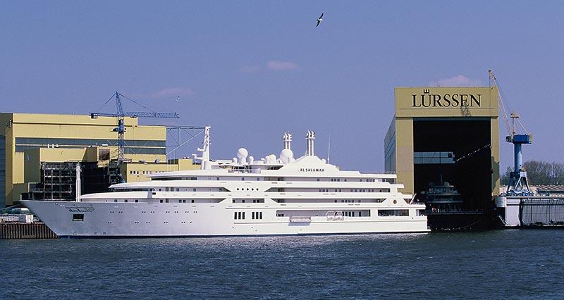 Al Salamah е в Топ 10 на най-скъпите яхти в света