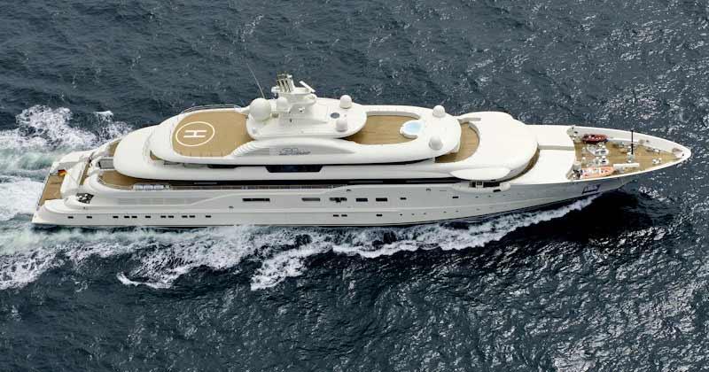 Dilbar е сред най-скъпите яхти в света