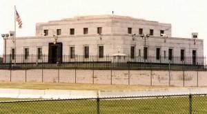 Сградата на златния резерв във Форт Нокс