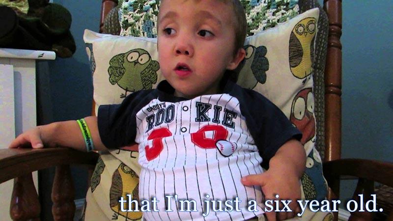 Малкото момче с огромното сърце…