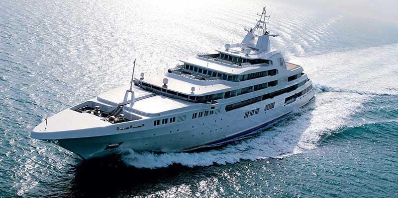 Dubai е втората най-скъпа яхта в света
