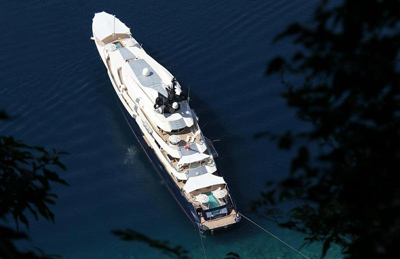 Seven Seas е сред топ 10 на най-скъпите яхти в света