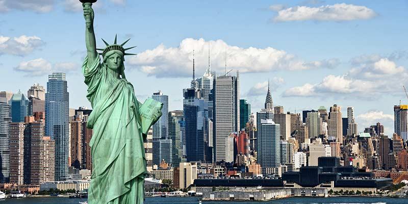 Най-посещаваните места в Америка