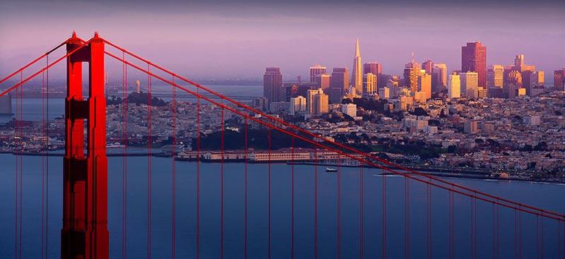 Сан Франциско е в топ 5 на най-посещаваните места в Америка