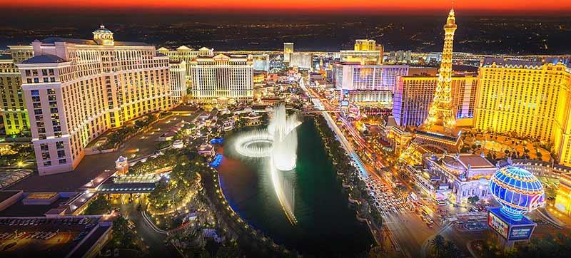 Лас Вегас е сред най-посещаваните места в Америка