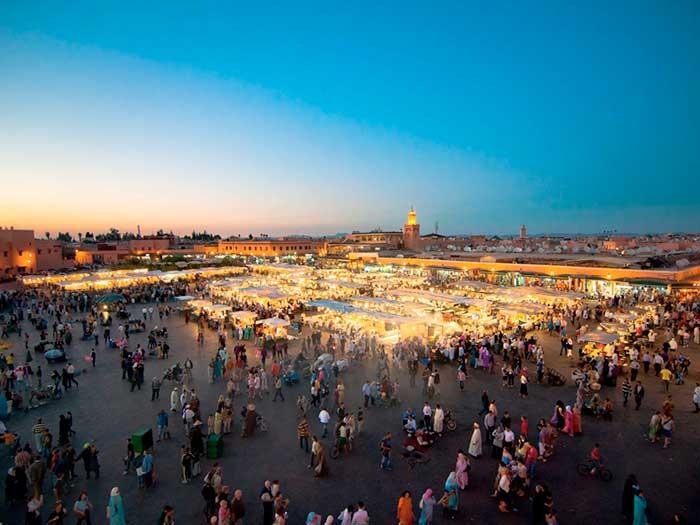 Маракеш - най-популярната туристическа дестинация