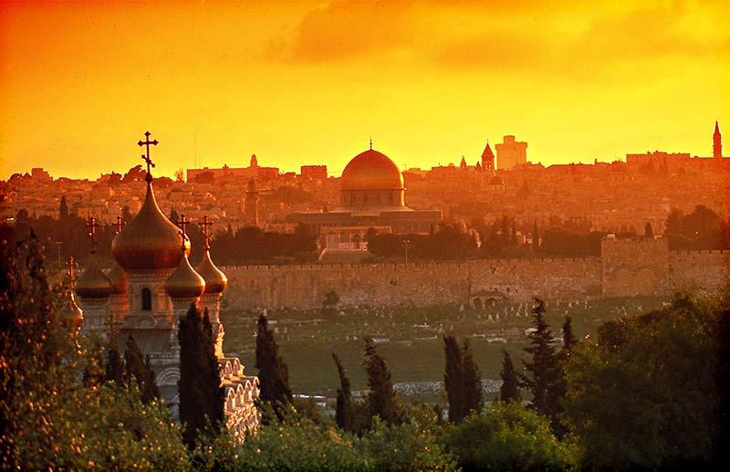 На почивка за Великден в Йерусалим