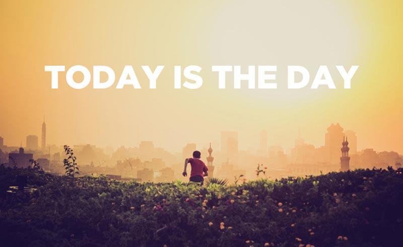 Не мисли за утре, защото днес е денят