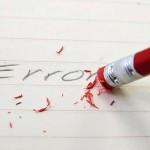 Учете се от грешките си