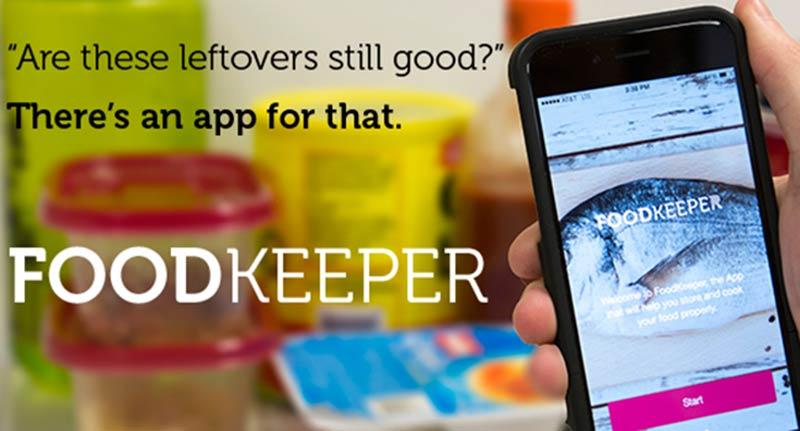 FoodKeeper, показва колко прясна е храната ни