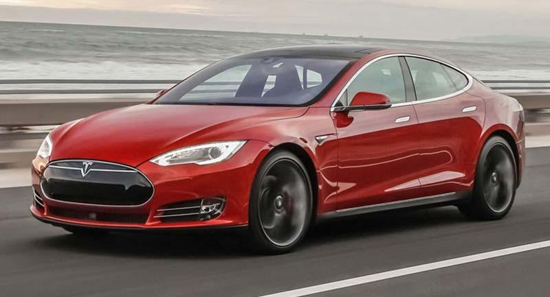 """Tesla Model S """"Ludicrous""""."""