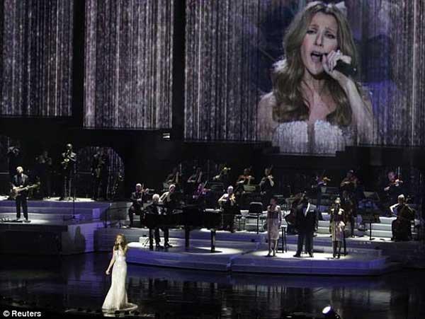 Селин Дион се завръща на сцената във Вегас