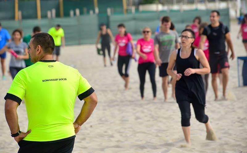 Димо Босев участва в благотворителна спортна кампания във Варна