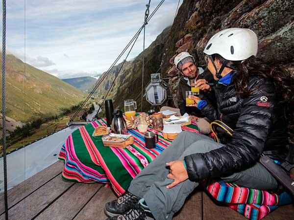 Приключенски туризъм в Андите